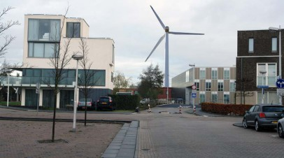Windmolenpark in de stad?!